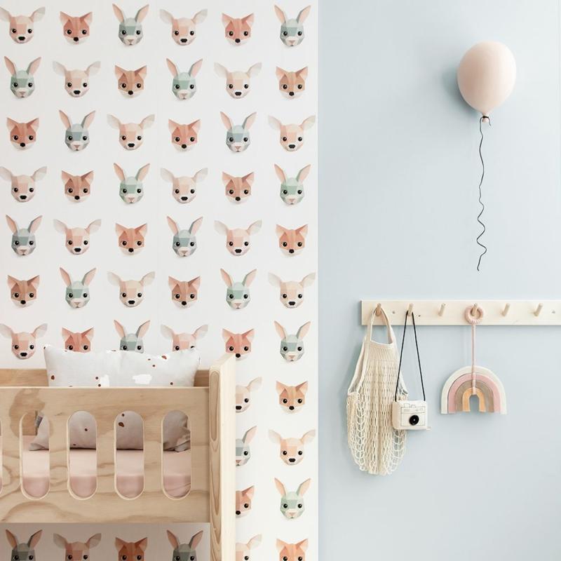 Studio Ditte tapéta - erdei állatok