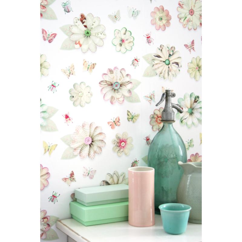 Studio Ditte tapéta - virágok