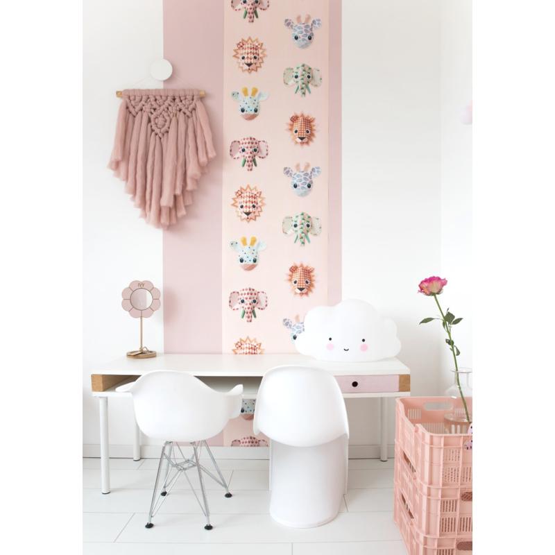 Studio Ditte tapéta - vadállatok pink