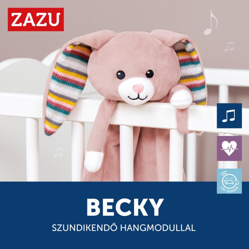 ZAZU Becky szundikendő sírásérzékelő hangmodullal