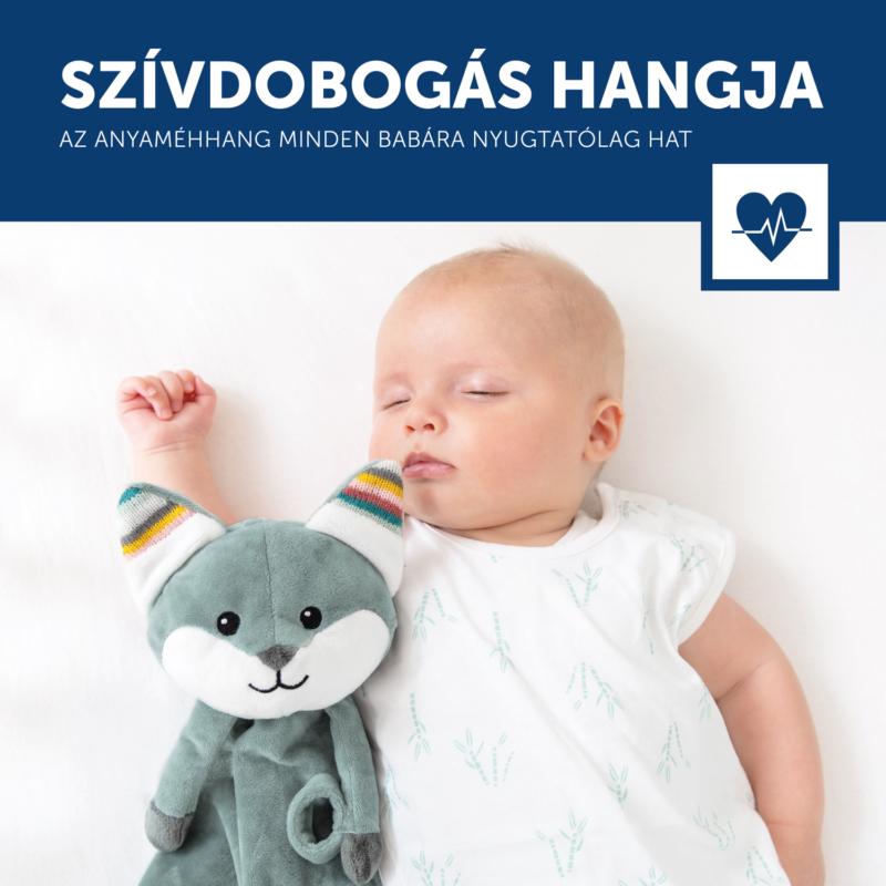 ZAZU Felix szundikendő sírásérzékelő hangmodullal
