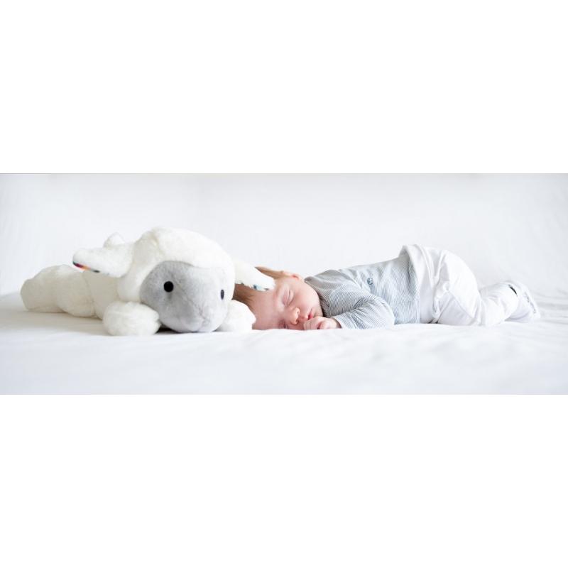 ZAZU Liz babanyugtató plüss bárány