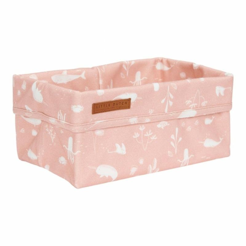 Little Dutch tároló doboz - pink óceán