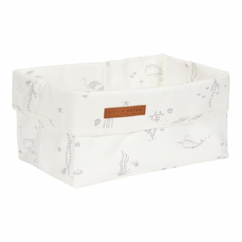 Tároló doboz - fehér óceán