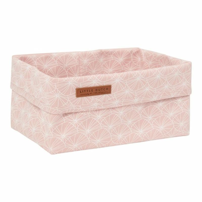 Tároló doboz - lily leaves pink