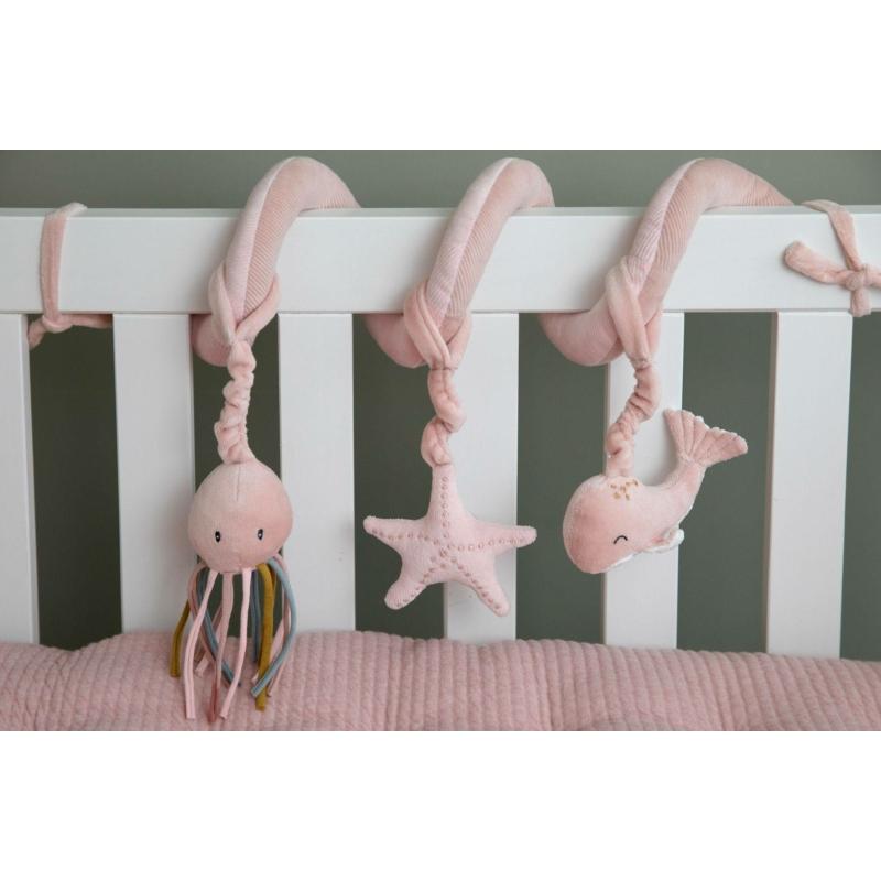 Little Dutch activity spirál - tengeri állatok, pink
