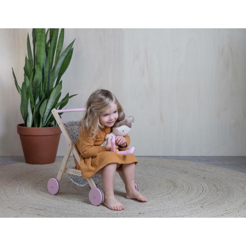 Little Dutch fa játék babakocsi