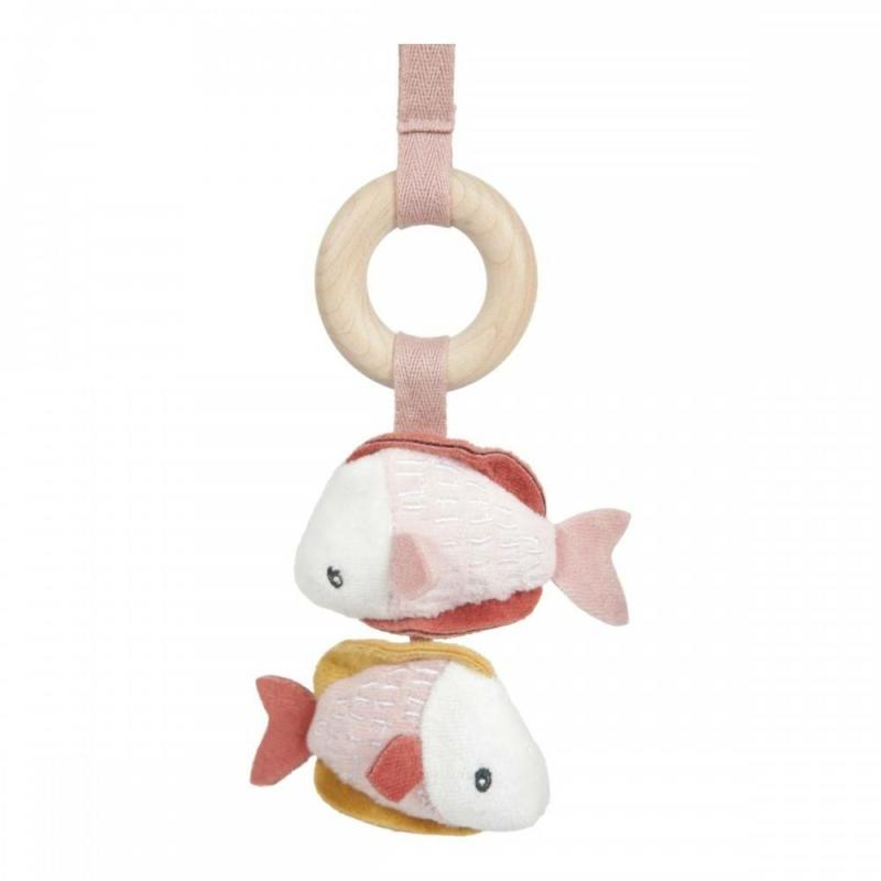 Little Dutch babatornáztató - tengeri állatos, pink