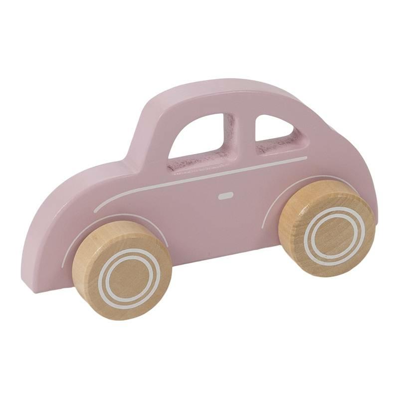 Little Dutch fa játék autó - beetle pink