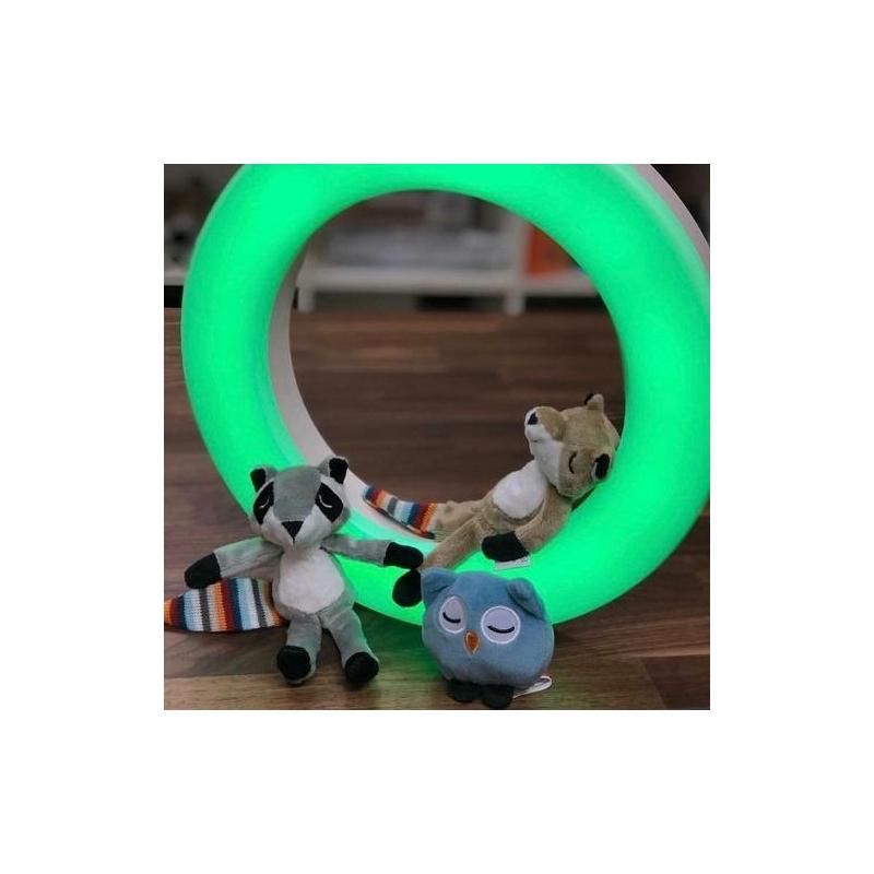 ZAZU Fay-Rex-Otis fali lámpa mágneses plüss figurákkal