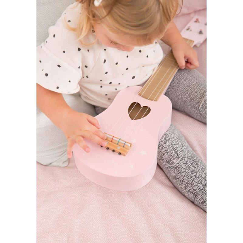 Little Dutch játék gitár - pink