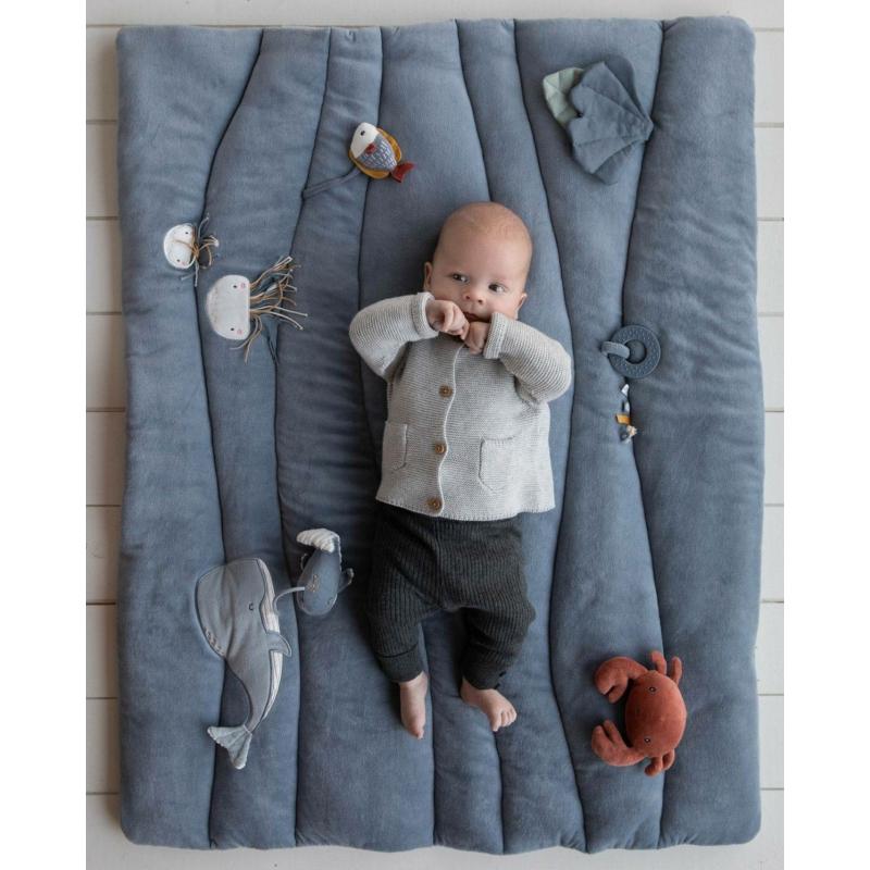 Little Dutch játszószőnyeg - tengeri állatos, kék