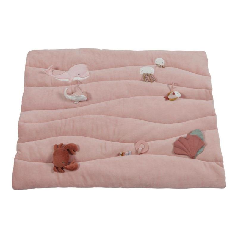 Little Dutch játszószőnyeg - tengeri állatos, pink