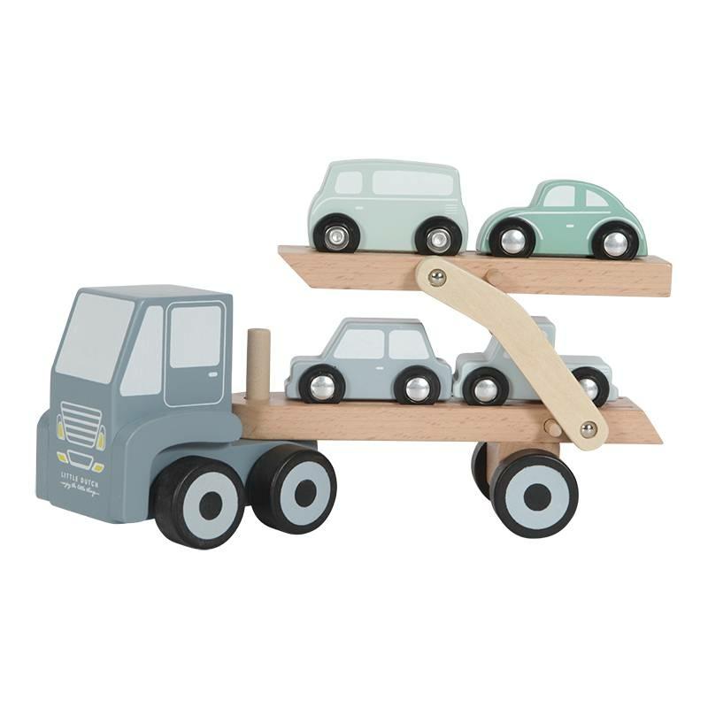 Little Dutch fa játék kamion - adventure kék