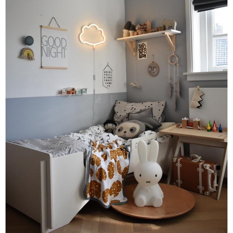 A Little Lovely Company neonlámpa, FELHŐ - sárga
