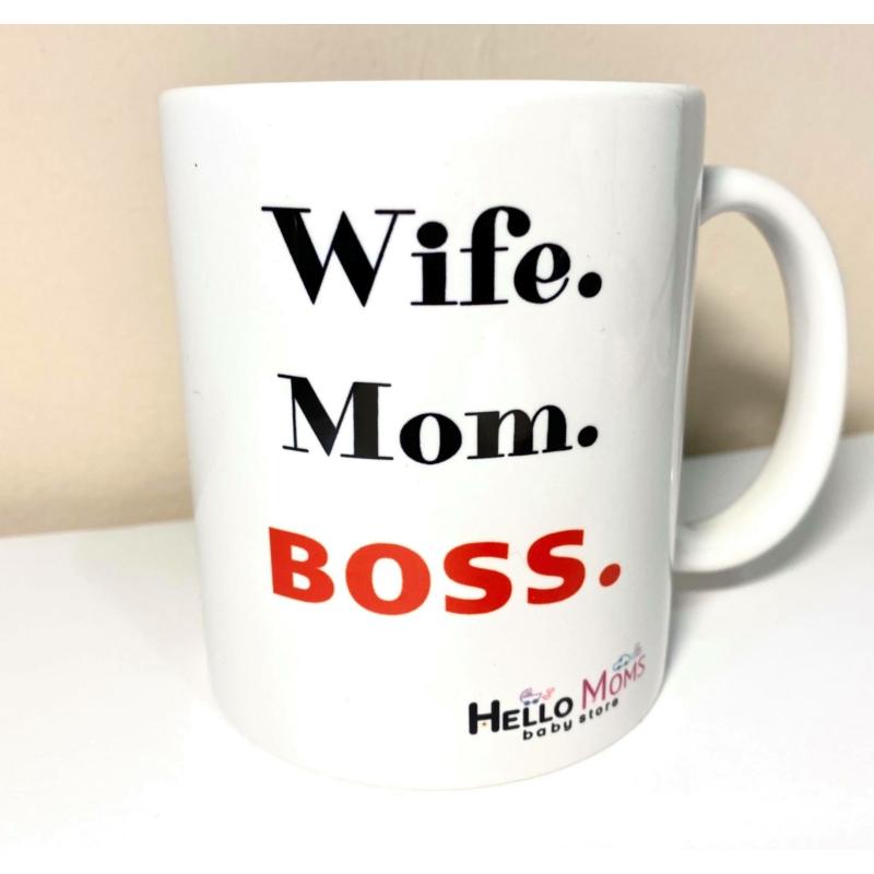 Wife.Mom.Boss bögre